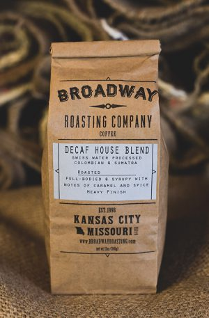 Swiss Water Decaf House Blend
