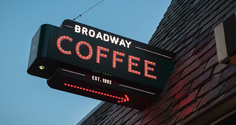 BroadwayCafeSign